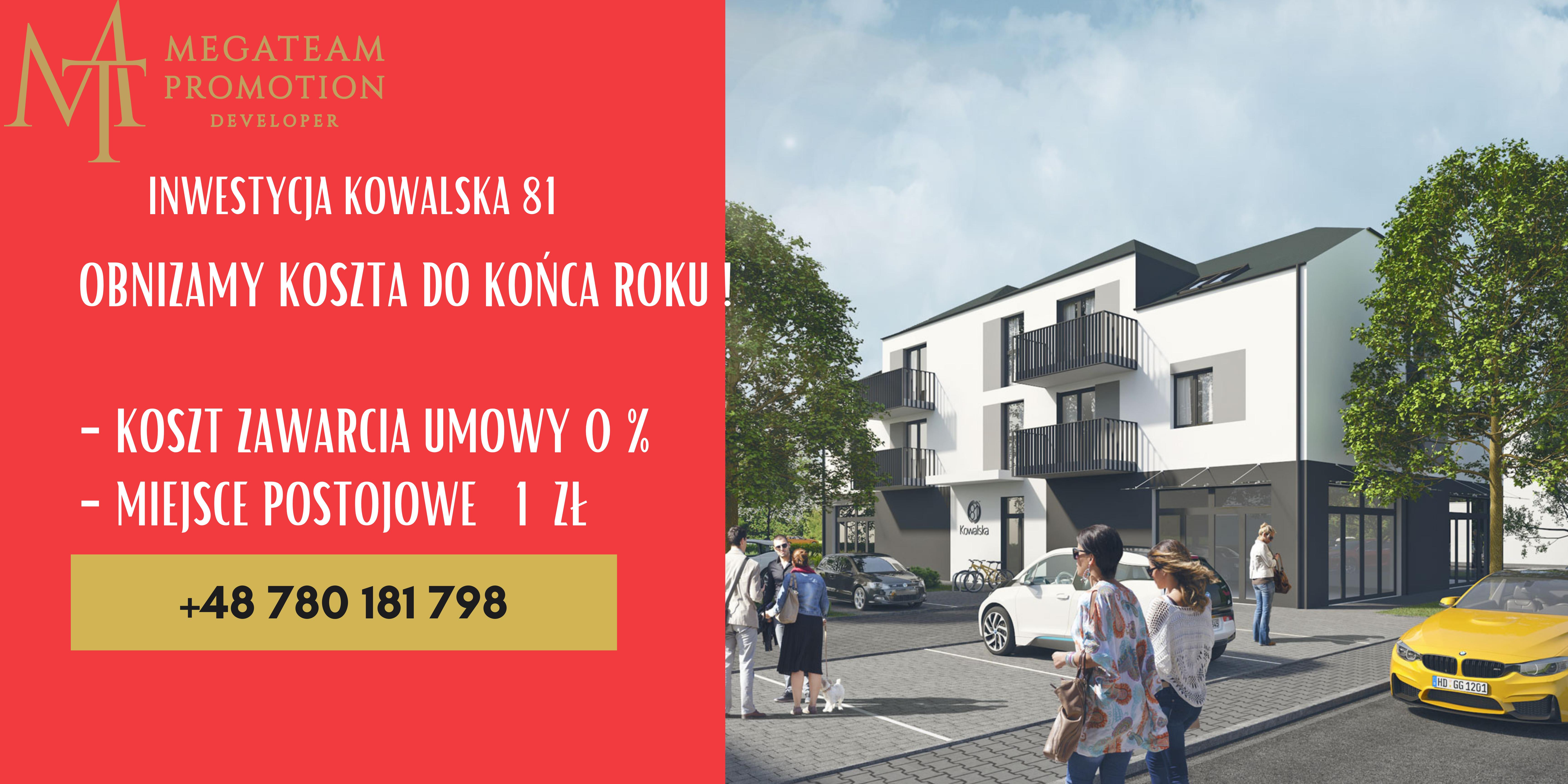 Nowa Inwestycja na Kowalskiej – 31,55 m2-M10